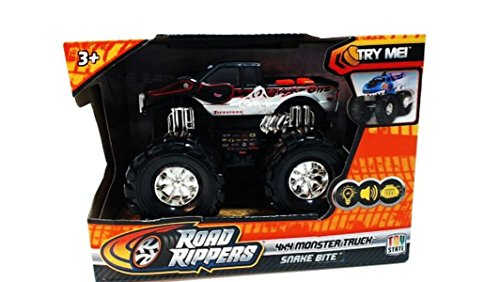 Toystate Road Rippers Light and Sound Snakebite 4X4 Monster Truck Vehicle