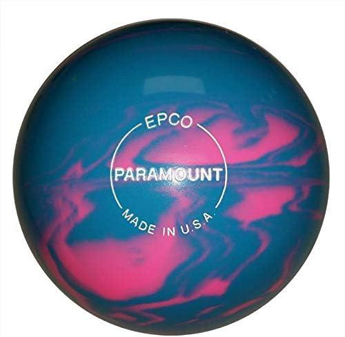 EPCO Paramount Marbleized Candlepin Bowlingボール – 4ボールセット – すべての色/すべてのウェイト Light 青, Burgundy & 銀 グレー 2.6 lbs