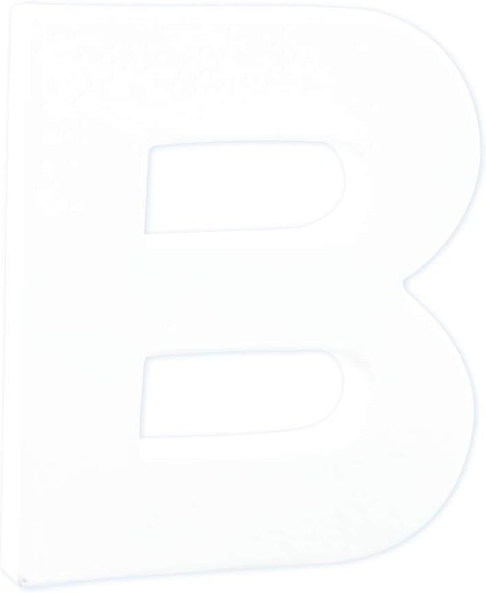 D/écopatch AC454O Buchstabe A Fantasie aus Pappmach/é zum Verzieren 5 x 26 x 30 cm kartonbraun perfekt f/ür Ihre Wohndeko