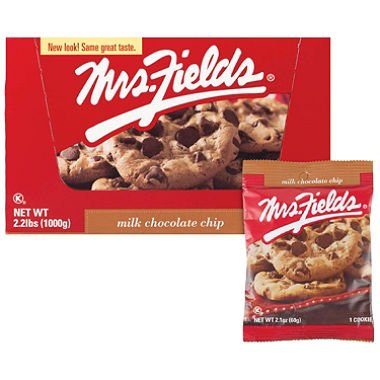 Mrs Fields Chocolate Cookies (Mrs. Field's Milk Chocolate Chip Cookies - 20 ct. (pack of 6))