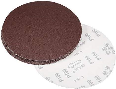 - 9-Inch Sanding Disc, 100-Grit Sandpaper für Sander, 10 Pieces