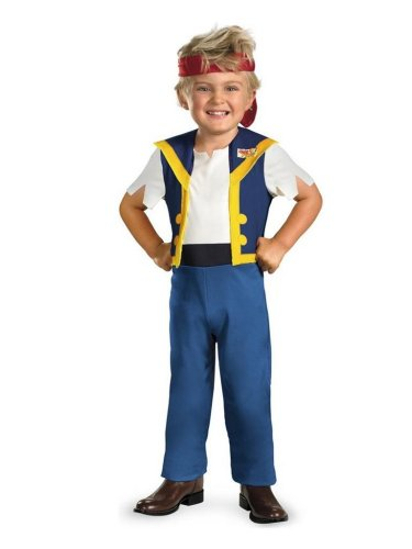 Disguise Toddler Boys Jake Costume Neverland Pirates Size 2T