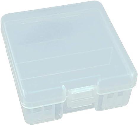 Almencla Caja De Almacenamiento De Batería De Plástico Duro 100X ...