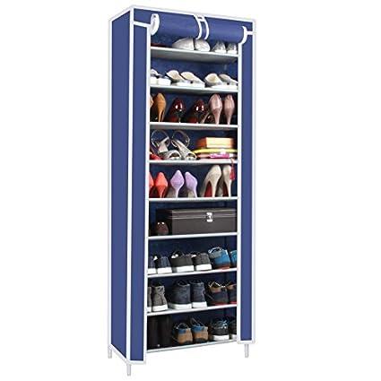 El resumen zapatos polvo RACK estanterías zapatos zapatos de tela no tejida archivadores admitir 10 9