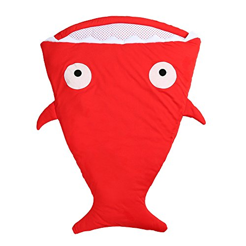Baby /& Toddlers Shark Shaped Baby Blanket Slumber Sleeping Bag with Tail /& Fins