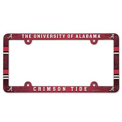 Alabama Crimson Tide Ncaa License Plate Frame (2 Pack)