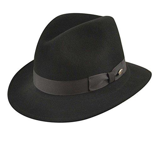 Hats Hat Bailey Wool - Bailey of Hollywood Men's Curtis, Black Medium