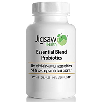 Jigsaw Health Essential Blend Probiotics Supplement, 90 Count