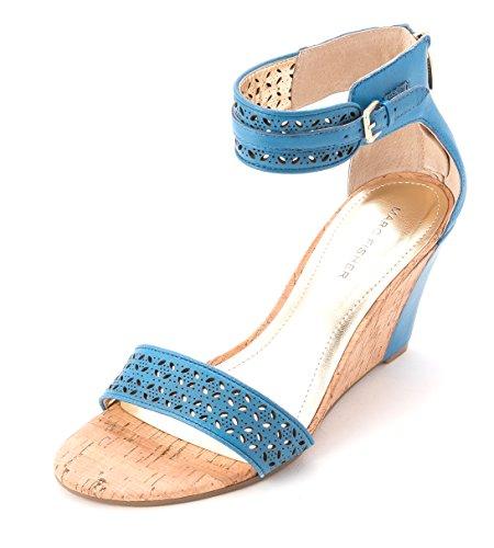Marc Fisher - Sandalias de vestir para mujer Med. Blue