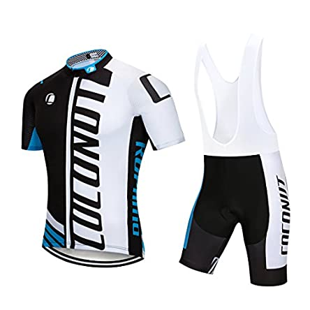 Men's Cycling Jersey Short Sleeve Full Zip Bike...