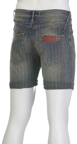 GAS Herren Bermuda Shorts Raf Chalk Denim Blue W627