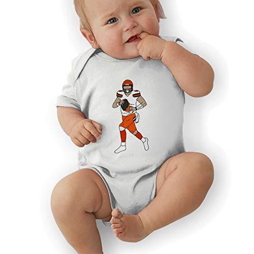 Unisex Baby Onesie Bodysuit Gray Cleveland Baker Short-Sleeve Bodysuit for Boys and Girls