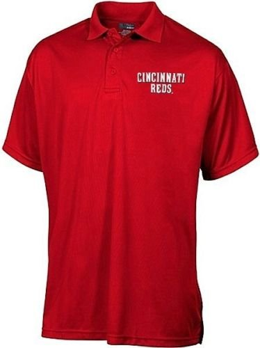 Majestic Cincinnati Reds MLB MJM Dri Fit Polo Shirt Red Big & Tall Sizes - Polo Reds Cincinnati