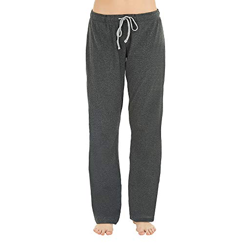 U2SKIIN Womens Cotton Pajama Pants, Comfortable Pant for Lounge, Soft Lightweight Sleep Pj Bottoms for Women ()