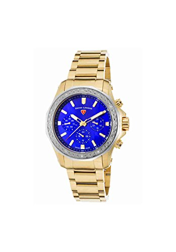 Swiss Legend Women's 'Islander' Swiss Quartz Stainless Steel Casual Watch, Color:Gold-Toned (Model: 16201SM-YG-33-SB)