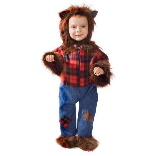 Dress Up America Baby Wolfman- Toddler T4 ()