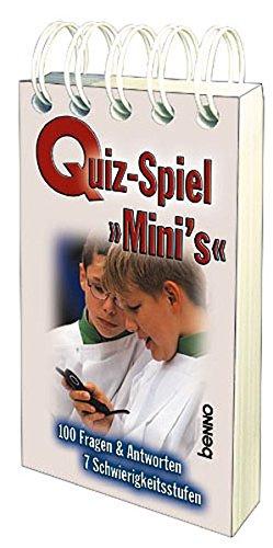 Quiz-Spiel Mini`s: 100 Fragen & Antworten 7 Schwierigkeitsstufen
