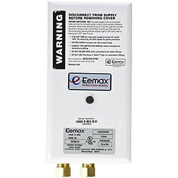 Eemax Ex3512 3 5kw 120v Flo Cont Water Heaters Amazon Com
