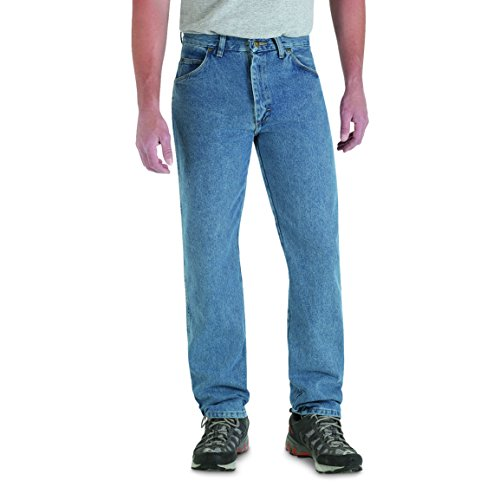 Wrangler Men's Rugged Wear Classic Fit Jeans (Mens Wear Jeans)