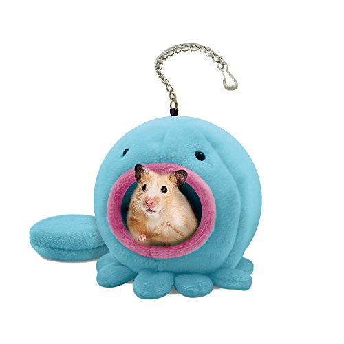 Pet Hamster Warm Bed House Cusion Fleece Hut Hanging Cage Cute Toy Nest for Mini Small Animal Mice,Rat,Hedgehog,Chinchilla