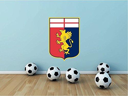 Genoa CFC Italy Soccer Football Sport Art Wall Decor Sticker 25'' X 17'' by postteam
