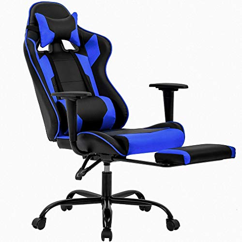 Office Chair Gaming Chair Desk Chair Ergonomic Executive Swivel Rolling Computer Chair with Lumbar Support (Best Big And Tall Gaming Chair)