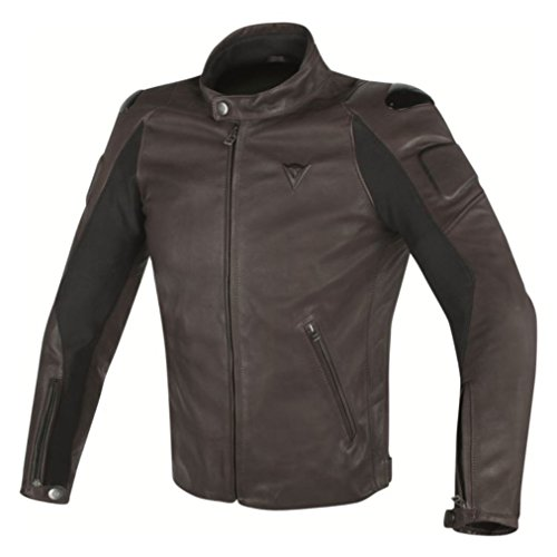Dainese Street Darker Leather Motorcycle Jacket (EU for sale  Delivered anywhere in USA