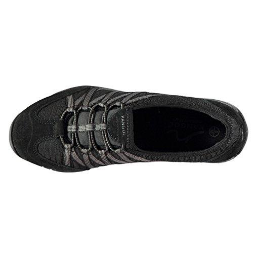 Bungee Femmes 39 Décontractées Noir Chaussures Kangol Erin ZATxS7qw7f