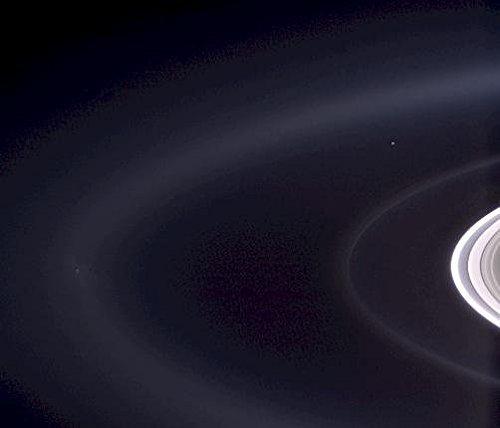 Poster A3 NASA Pale Blue Orb 2 Description Not since Nasas Voyager 1 spacecraft