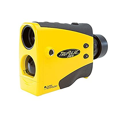 LASER Technology 7005031 Trupulse 200B Yellow Laser Rangefinder by Webyshops