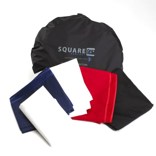 1045 Square Perfect 60 Inch Light Tent Photo Cube Softbox with 4 Colored Backgrounds For Product Photography by SQUARE PERFECT (Image #3)