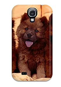 New Fashion Premium Tpu Case Cover For Galaxy S4 - Chow Chow Dog