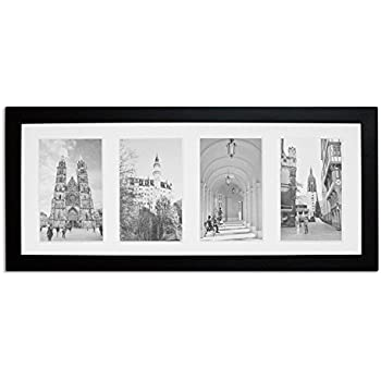 Amazon.com - ArtToFrames 8x20 inch Black Picture Frame, WOMFRBW72079 ...