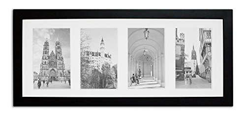golden-state-art-8x20-matted-black-wood-4-opening-for-4-x-6-collage-picture-frame