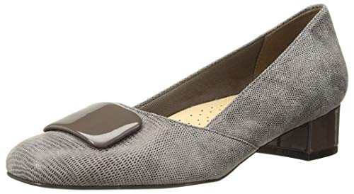Trotters Women's DELSE Pump, Taupe, 9.5 W US
