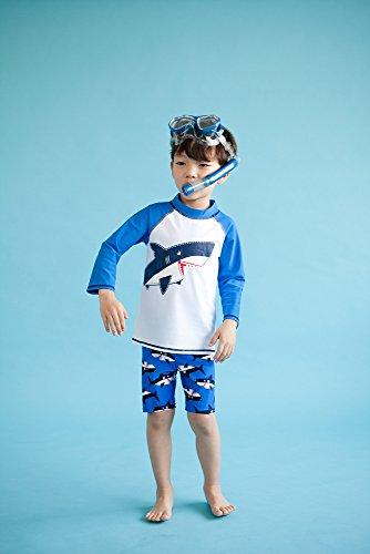 20fe7550f6 Vaenait baby 2T-7T Toddler Kids Boys UV Sun Protection Rashguard Swimsuit  Bathing Suit Sets
