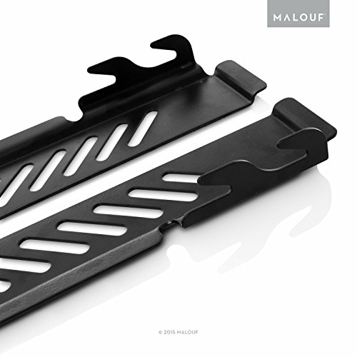 MALOUF STRUCTURES Downward Pointing Bolt-On to Hook-On Conversion Bracket, Set of 2