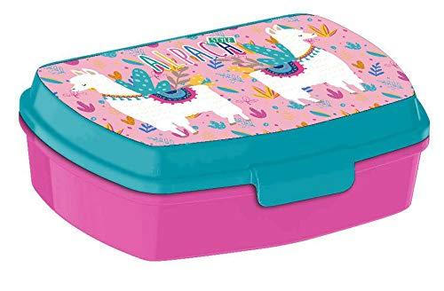Kids Sandwichera Plastico de alpaca Bolsas t/érmicas