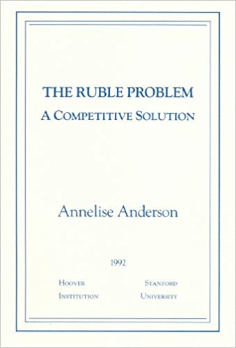 The Thesis Statement Of An Essay Must Be The Ruble Problem A Competitive Solution Essays In Public Policy English Essay Samples also Essay About Good Health Amazoncom The Ruble Problem A Competitive Solution Essays In  Expository Essay Thesis Statement