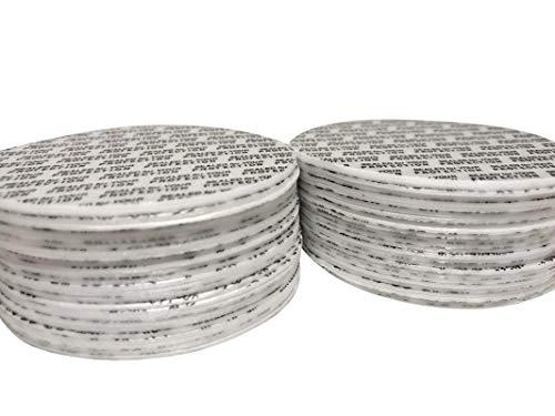 ([500 Count] 70mm Pressure Sensitive PS Foam Seals Caps Liners