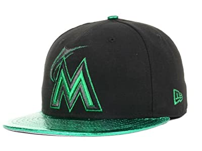 New Era Miami Marlin Metalic Snake Fitted Hat