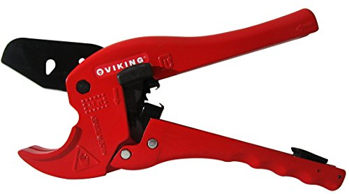 Pvc Pipe cutter up to 11/2, Tube Cutter, Ratchet Action Quick Blade Release Mechanism,Fast Pipe Cutting 1-1/2