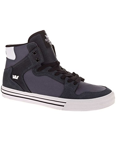 Supra Vaider, Baskets Hautes Mixte Adulte charcoal/white