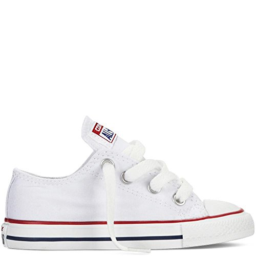 Galleon - Converse Chuck Taylor All Star OX Shoe - Toddler Girls  Optical  White 3fdb7a1cd