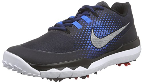 Nike TW '15 Tiger Woods Men's Golf Shoes, Midnight Navy, 9.5 Medium - Golf Shoes Tiger
