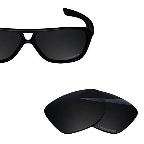 BlazerBuck Anti-salt Polarized Replacement Lenses for Oakley Dispatch 2 - Black