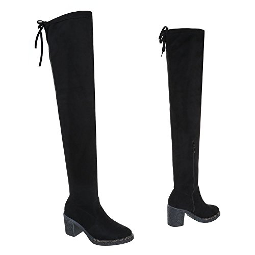Chaussures Ital Bottes et Bloc Bottines Design Cuissardes Femme Bottes OSPwvFq