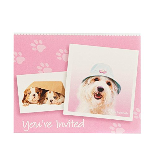 (BirthdayExpress Rachael Hale Glamour Dogs Party Supplies - Invitations (8))