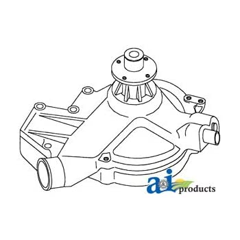 Amazon Com Re40239 Water Pump Fits John Deere 655b 750b 755b