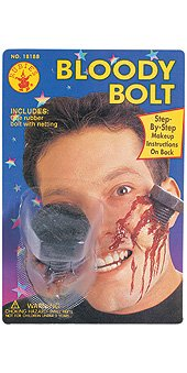 Bloody Bolt Prosthetic Appliance (Screw And Bolt Halloween Costume)